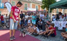 Sesenta mascotas se lucen en un desfile en La Granja contra el abandono animal
