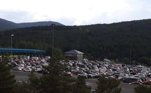 Un accidente en el túnel de la AP-6 hacia Madrid provoca retenciones de seis kilómetros en El Espinar