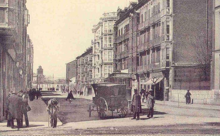 Estampas del Valladolid antiguo (XV): cuando los carros circulaban por la ciudad