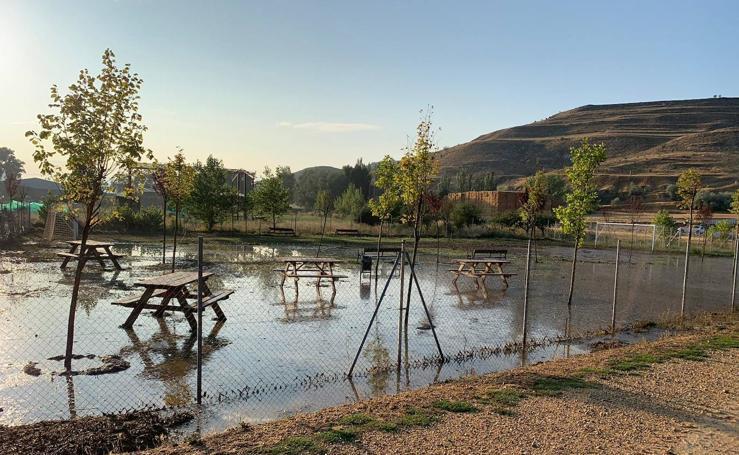 Imágenes de Castrillo tras las tormentas