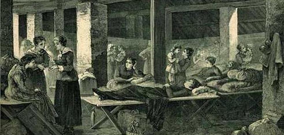Indefensos ante el cólera