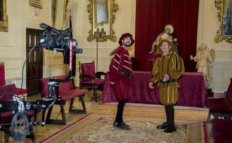 La cofradía de Las Angustias recreará sus 450 años en un montaje multimedia en el Zorrilla