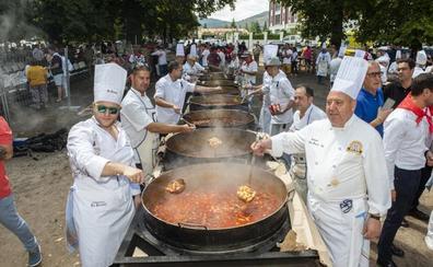 La Granja de San Ildefonso cocina judiones para 11.000