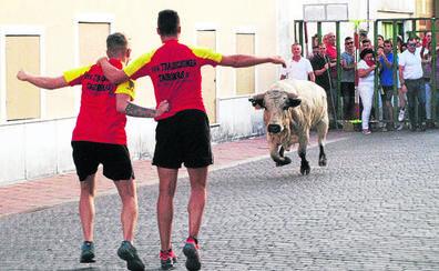Calor, bingo y toros en Pedrajas