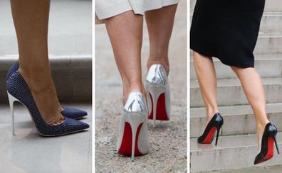 Melania Trump y el arte de caminar sobre tacones de aguja de 12 centímetros