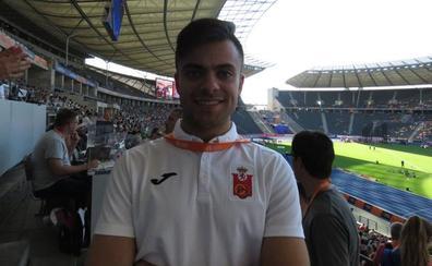 Sergio Juárez, campeón de España de 100 metros lisos