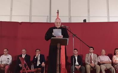 Pregón de Carlos Amigo en Villafrechós