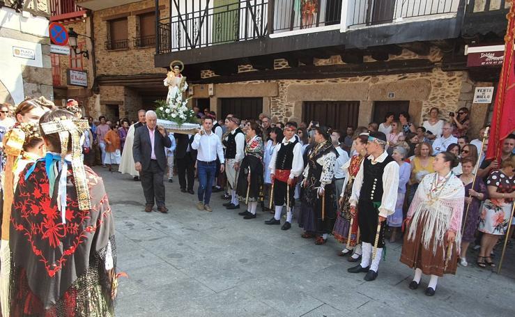 Sotoserrano rinde honores a San Ramón Nonato
