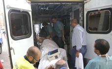 El torero Paco Ureña descansa en planta en el Hospital de Palencia tras la cornada del viernes