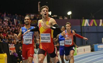 Óscar Husillos renueva el título de campeón de España