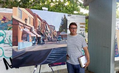 Eduardo Alsasua gana el concurso de pintura rápida 'Pinta mi pueblo'