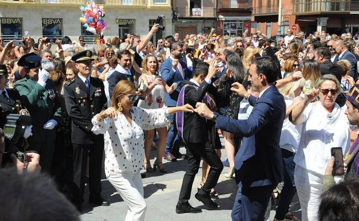 Misa y procesión de San Antolín en Medina del Campo