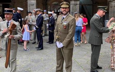 Un militar vallisoletano, destinado en Nápoles tres años, será el nuevo jefe del Grupo Acorazado 'Villaviciosa'