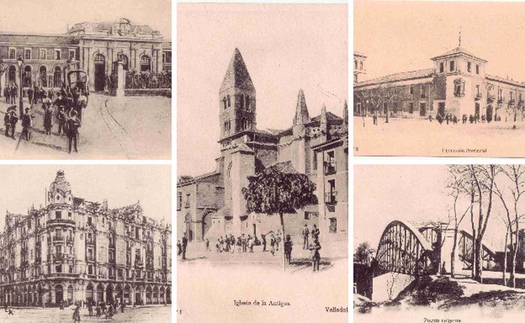 Estampas del Valladolid antiguo (XVI): tarjetas postales de los años 20