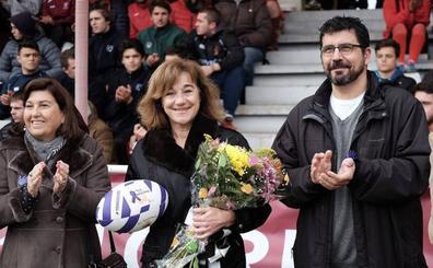 La madrina del último torneo contra la violencia de género en Valladolid
