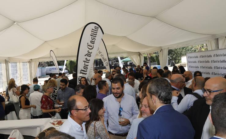 El Norte de Castilla comparte las fiestas con los palentinos en su caseta (1/2)