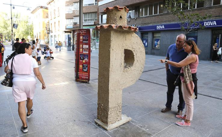 'El palomar' gana el concurso 'Palencia con P' entre catorce esculturas