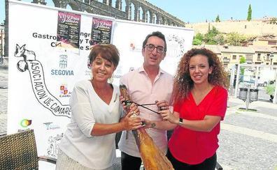 La séptima Feria del Jamón de Castilla y León sitúa Segovia como referente