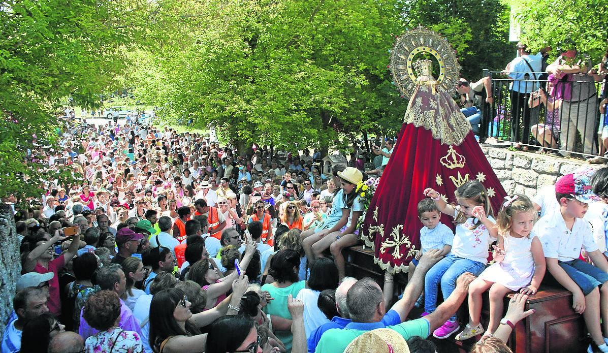 Comienza el novenario que prepara la romería de la Virgen de El Henar