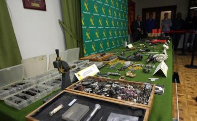 La Audiencia de Valladolid estrena el curso con un juicio de tres días por tráfico de armas