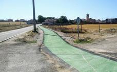 Alcazarén invierte cerca de 50.000 euros en la creación de un carril bici