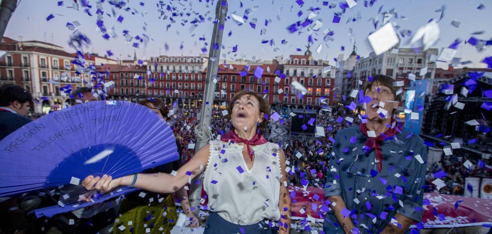 Teloncillo invita a «soñar y a tomar la calle» en las fiestas de Valladolid