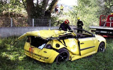 El accidente de Galisancho duplica el número de víctimas mortales en carretera este verano