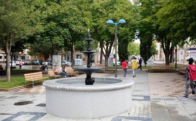 Culminan las obras en las zonas verdes del barrio Vidal y la avenida de Salamanca