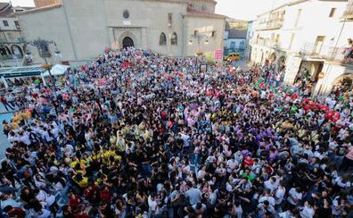 La peña Kukuana abre las fiestas de la Virgen del Castañar de Béjar con su pregón