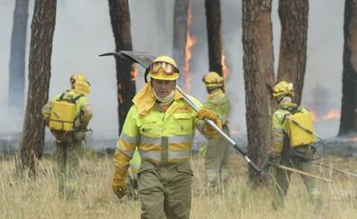 El número de incendios de verano en la provincia crece el 72% en un año