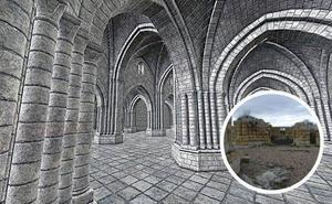 Investigadores de la UEMC reconstruyen en 3D el derruido monasterio vallisoletano de Matallana