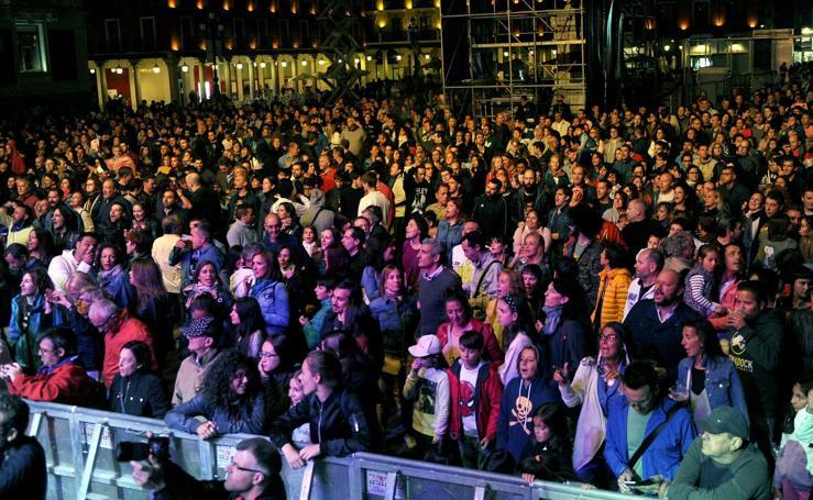 Concierto de Cañoneros en las fiestas de Valladolid