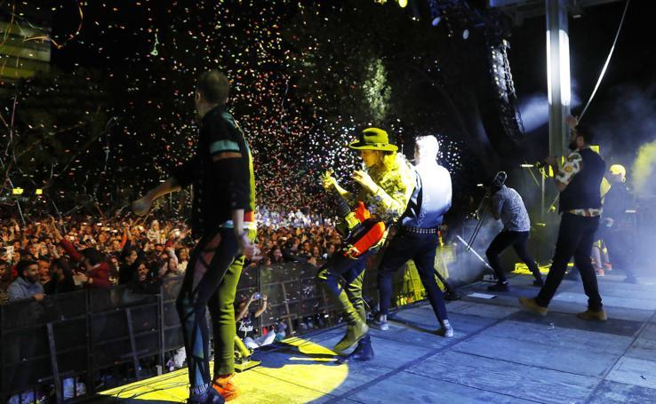 Concierto de La Pegatina en las fiestas de Palencia