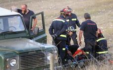 El bombero embestido por un novillo: «Ha sido un susto, ahora ya me hacen gracias como la del bombero torero»