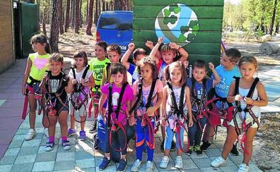 Alrededor de 160 niños han tomado parte en los campamentos estivales