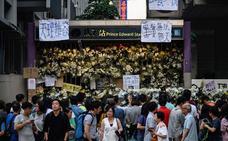 Los manifestantes de Hong Kong vuelven a tomar estaciones de metro tras fracasar en el aeropuerto