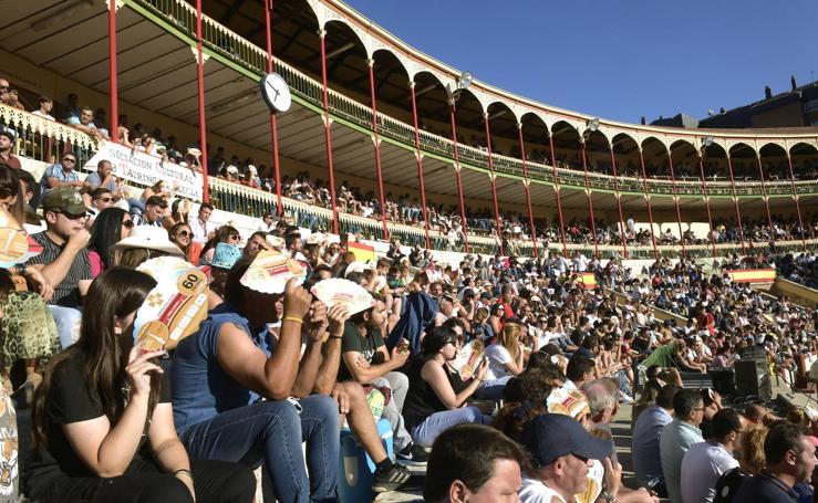 Ambiente en la final del Concurso de Cortes de Valladolid