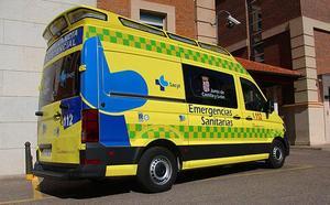 Herida grave una ciclista en el Triatlón Olímpico de Frómista al sufrir un accidente con una furgoneta ajena a la prueba