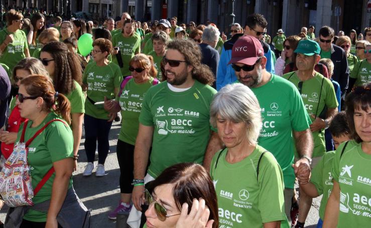 VI Marcha contra el Cáncer en Segovia