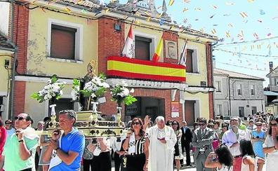 Procesión de San Nicolás en Fuentepiñel
