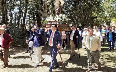 Rioseco, Villalón y Villafrechós rinden honores a su patrona