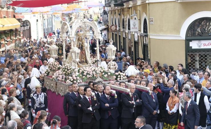 Misa y procesión en honor a la Virgen de San Lorenzo