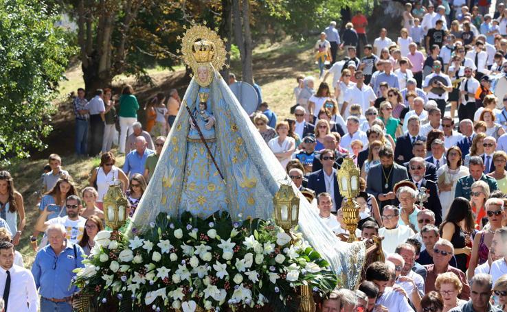 La Virgen del Castañar bendice Béjar