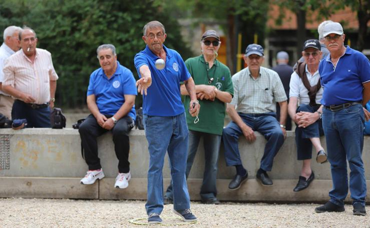 Torneo de petanca de las Ferias y Fiestas de Salamanca