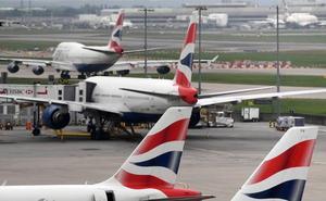 British Airways anula casi todos los vuelos en Reino Unido por la huelga de sus pilotos