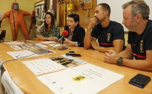 Los bomberos de Palencia protagonizarán un calendario para ayudar a los niños con autismo