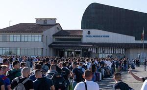 Cerca de tres mil alumnos de policía llegan a Ávila para el comienzo de las clases