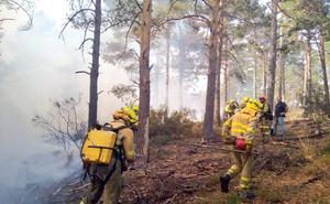 Controlado el incendio declarado en el parque natural de Las Batuecas