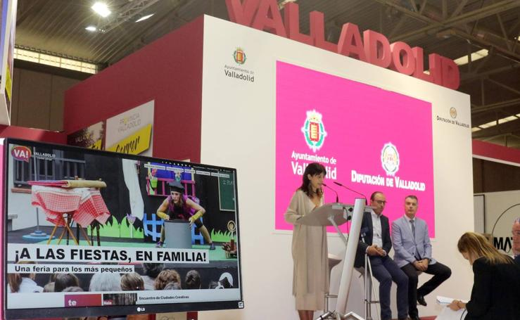 Presentación del expositor de Valladolid en la Feria de Muestras