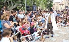Números de magia en las fiestas de Salamanca